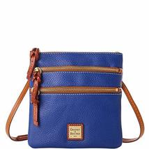 Dooney & Bourke North South Triple Zip Crossbody Royal Blue