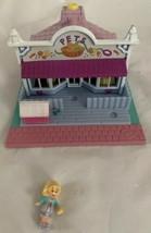 Vintage 1993 Polly Pocket Pollyville Pet Shop with 1 Original Doll - $21.99