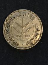 Palestine 1933 silver 50 Mil coin - $150.00