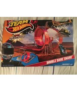 Hot Wheels Team Hot Wheels Double Dare Snare Track Set Toy Gift NIB - $40.00