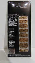 Maybelline Color Show #30 on the Prowl Nail Stickers Mirror Effect NEW - $1.61