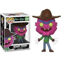 Funko Scary Terry: Rick & Morty x POP! Animation Vinyl Figure & 1 PET Plasti... - $40.09