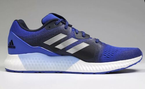 Adidas Aerobounce ST Mens 10 Sneakers CG4615 Royal Blue and Silver Brand New