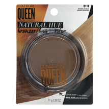 Covergirl Queen Collection Natural Hue Bronzer BROWN BRONZE Q110 11g/.39oz NEW - $12.49