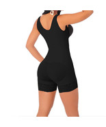 Full Body Shaper High Compression Strappy Waist Trainer Corset Shapewear Black - $16.19 - $16.99
