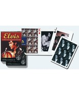 Playing Cards Elvis by Piatnik Each Card is Different New - $9.05