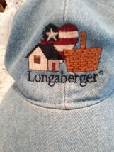 ** Longberger Basket demin Hat - $14.11