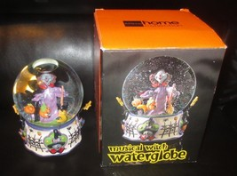 Musical Witch Halloween Waterglobe Ding Dong The Witch Is Dead Song JC P... - $35.63