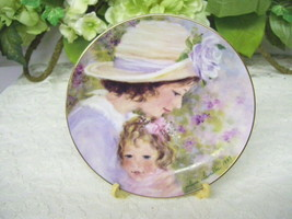 MOTHER'S DAY PLATE TENDER MOMENTS BY HELENE LEVEILLER 1997 AVON - £25.81 GBP