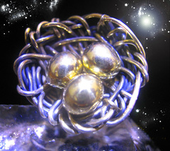 HAUNTED RING ALEXANDRIA'S NEST EGG GAIN FINANCIAL SECURITY SECRET OOAK  MAGICK - $8,879.77