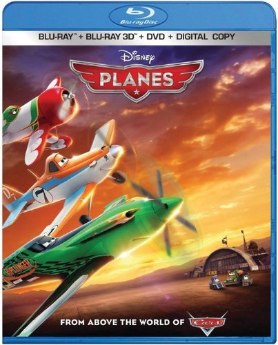 Disney Planes [3D + Blu-ray + DVD]