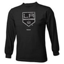 Los Angeles Kings NHL Adidas Youth Distressed Long Sleeve Tee - $9.89