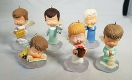 Hallmark Marys Angels Christmas Ornaments Lot Of 6 NO BOXES - $49.99