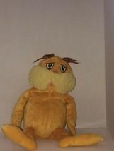 Used Kohls Cares The Lorax Dr. Seuss  orange yellow stuffed animal SHIPN24HRS - $8.79