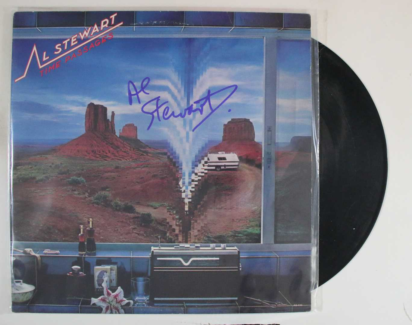 "Primary image for Al Stewart Signed Autographed ""Time Passages"" Record Album"