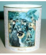 Artis Orbis Renoir Porcelain Oval Mini Vase Umbrellas by Goebel New - $14.90