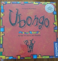 Board Game UBONGO Puzzle Solving Ages 8 +, 1 - 4 players Award Winning