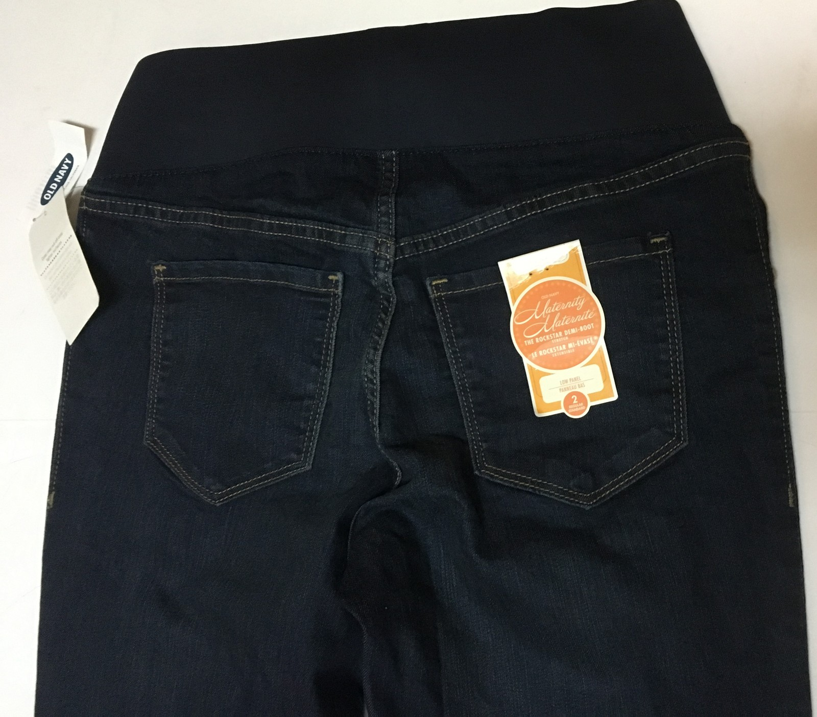 Old Navy Maternity Jeans Slim Boot Cut Sz 2 NWT