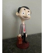 Extremely Rare! Mister Mr.Bean Walking with Suitcase Figurine Statue - $267.30