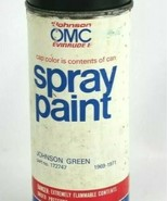 Johnson Evinrude OMC Spray Paint Johnson Green 1969-1971 Part #172747 - $29.42