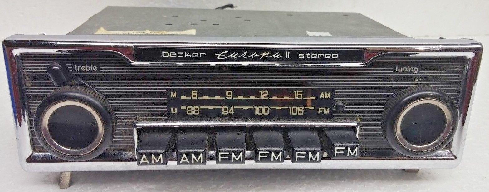 OEM Becker Europa II Stereo Radio Push and 50 similar items