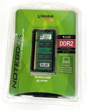 Kingston Value RAM 1GB DDR2 PC2-5300 667Mhz Notebook Memory  KVR667D2SO/1GR - $11.87
