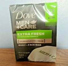 Dove Men+Care Extra Fresh Body and Face Bar 4 oz X 2 Bar - $9.74