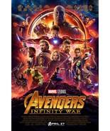 "Avengers Infinity War Movie Poster 13x20"" 27x40"" 32x48"" Marvel Comics Film Print - $9.99 - $13.99"