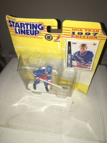 Starting Lineup 1997 Wayne Gretzky Action Figure 10th Year Edition