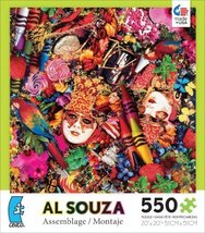 Ceaco Al Souza Assemblage Carnival Jigsaw Puzzle by Ceaco - $25.98