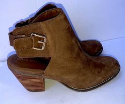 Cole Haan NWOB Pippa Block Heel Bootie Womens 8.5B Brown W17664 - $24.03