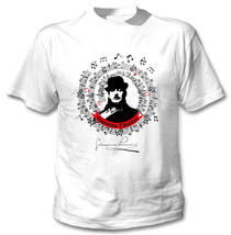 Giacomo Puccini - New Cotton White Tshirt - $24.06