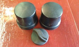8A41 Charbroil Grill Black Plastic Adjustment/Control Knobs (3) - £14.71 GBP