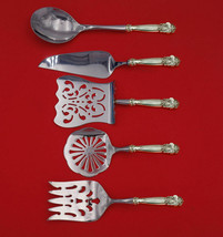 Georgian by Towle Sterling Silver Brunch Serving Set 5-Piece HH WS Custom Made - $459.00