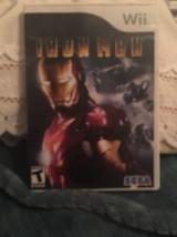 Iron Man (Nintendo Wii, 2008) Game - $7.84