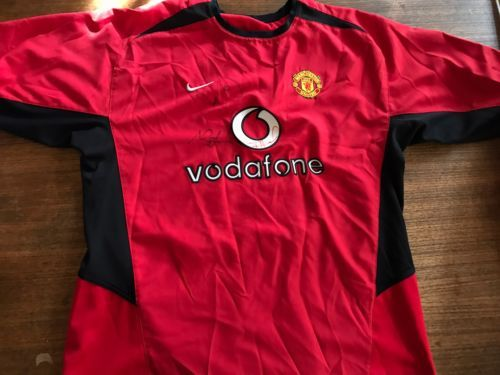 6173c6da297 2004 Manchester United Home Jersey Vodafone and similar items. 12
