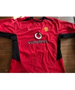 2004 Manchester United Home Jersey Vodafone Giggs #11 Nike XL SIGNED - $50.25