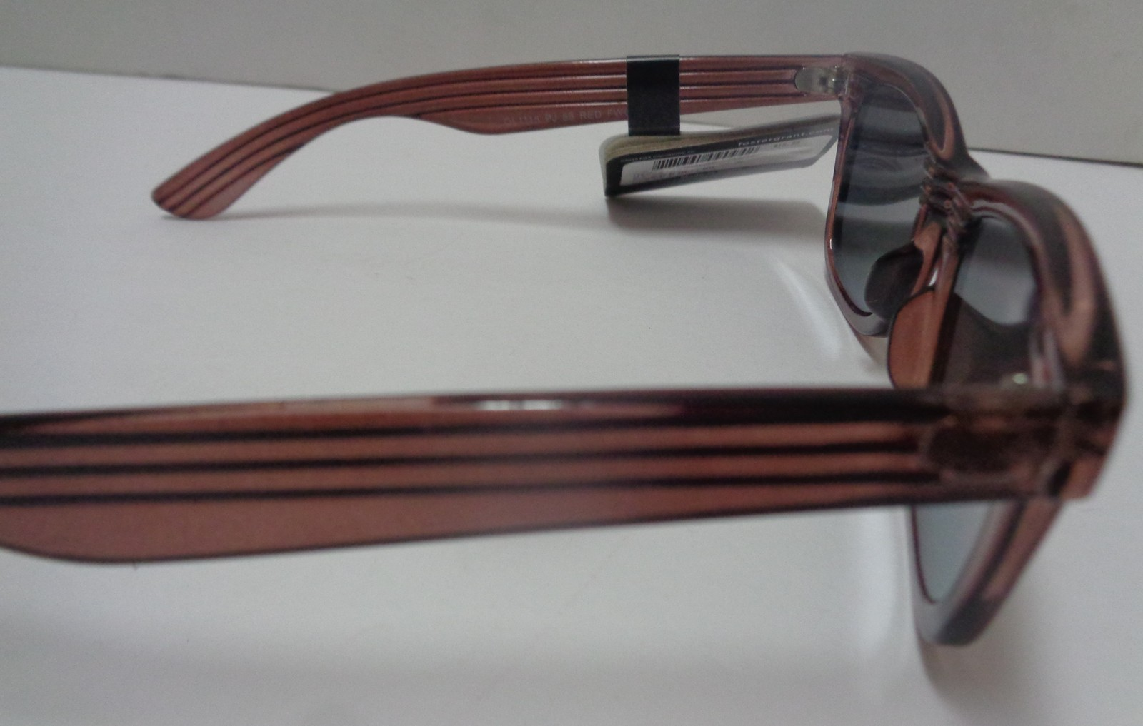 Foster Grant Sunglasses Wood Design Frame Mirrored NWT 100% UVA UVB Protection image 6