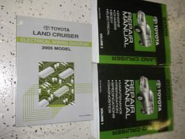 2005 Toyota Land Cruiser Service Shop Workshop Repair Manual Set Feo W Ewd - $267.23