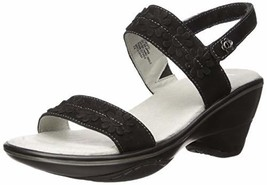 Jambu Women's Daisy Wedge Sandal, Black, 11 M US - $43.95