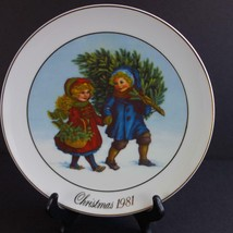 Vintage 1981 Avon Christmas 1st Ed Christmas Memories Collector Plate Japan - $17.41