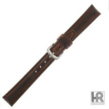 Hadley Roma LS881 12mm Long Brown Oil Tan Leather Stitched Ladies W... SHIPSFREE - $19.95