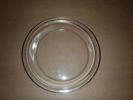 "Vintage PYREX PIE PLATE Clear Glass 209 Etched Flowers 9.5"" - $6.79"