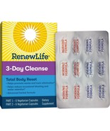 Renew Life Adult Total Body Reset Cleanse, 3-Day Program, 12 Capsules.. - $16.82