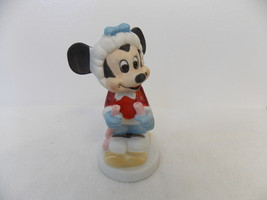 Disney Vintage Minnie Mouse Skiing Figurine  - $15.00
