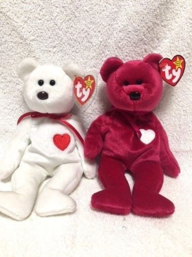 1a62d02a08fdf Ty Beanie Babies  Valentino and Valentina