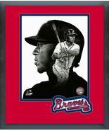 Ozzie Albies PROfile Atlanta Braves -11x14 Team Logo Matted/Framed Photo - $43.55