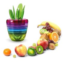 Fruit Slicer Cutter Colorful Salad Lemon Squeezer Grinder Kitchen Access... - €21,72 EUR