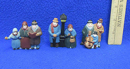 Department 56 Heritage Christmas Village Series 3 Groups Of Carolers Lot... - $15.04