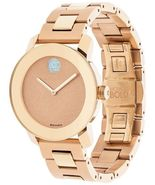 MOVADO Bold Bronze Dial Rose Gold Ladies Watch 3600335 - $550.00